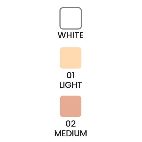 Matt gennemskinneligt pulver - Glanskontrolpulver - Quiz Cosmetic Medium