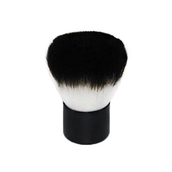 Smink Kabukiborste Svart foundationborste puderborste makeup Svart