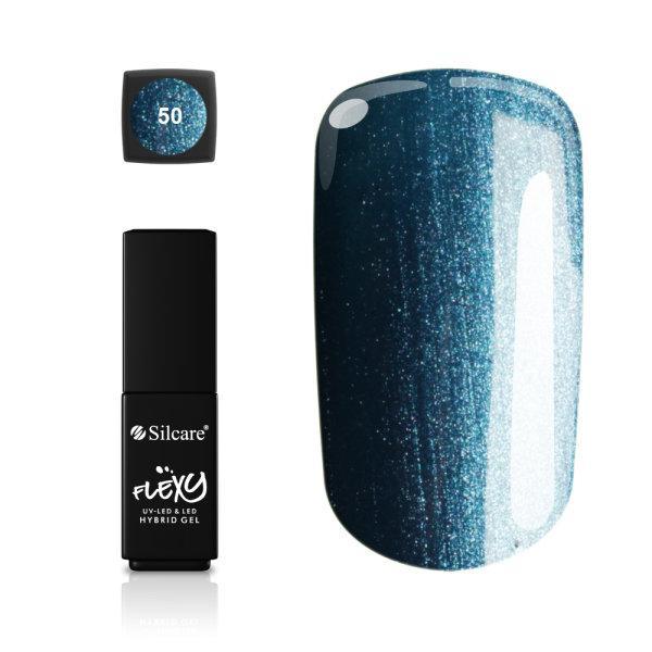 Gellack - Flexy - * 50 4,5 g UV -geeli / LED Blue