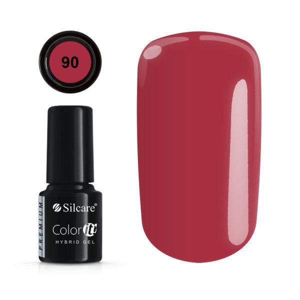 Gellack - Väri IT - Premium - * 90 UV -geeli / LED Red