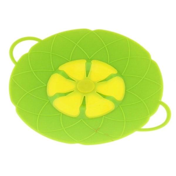 Kogedæksel / multilås i silikone - Grøn Green