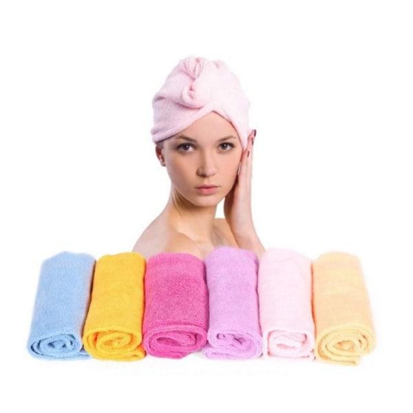Håndklæde mikrofiber turban Light blue
