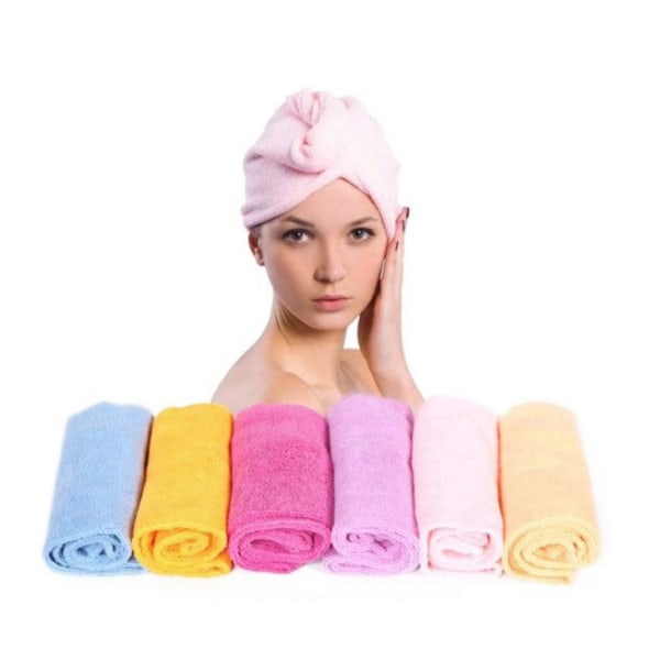Håndklæde mikrofiber turban Light pink