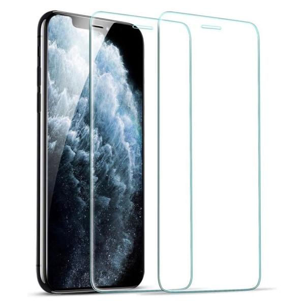 2 hærdet glas iPhone X / XS / 11 PRO - Skærmbeskytter Transparent