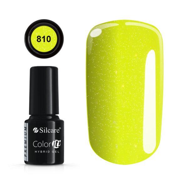 Gellack - Color IT - Premium - * 810 UV -gel / LED Yellow