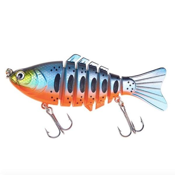 5st wobbler - Fiskedrag