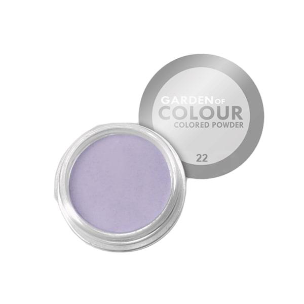 Farvehave - Farvet pulver - NR 22 4g Akrylpulver