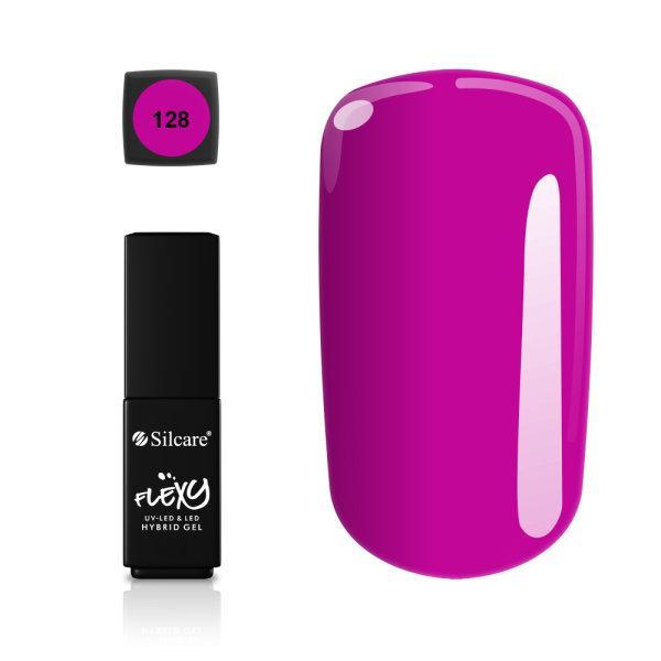 Gellack - Flexy - * 128 4,5 g UV -gel / LED Pink