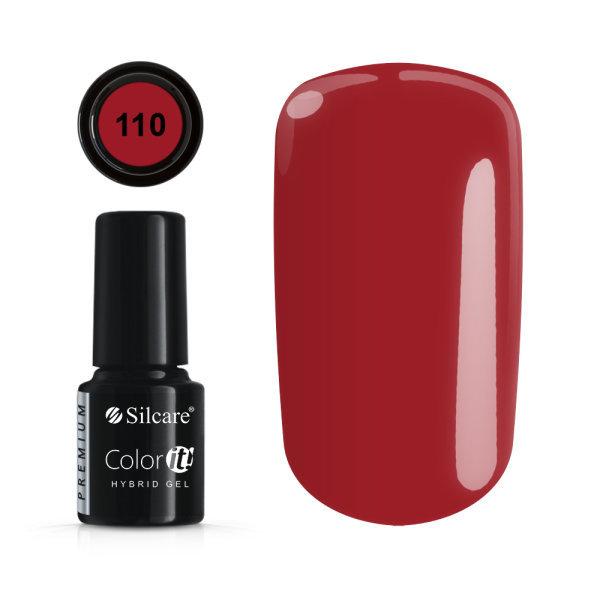Gellack - Color IT - Premium - * 110 UV gel / LED Red