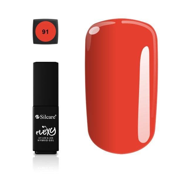 Gellack - Flexy - * 91 4,5 g UV -geeli / LED Red