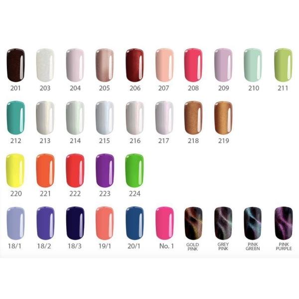 Gellack - Flexy - * 110 4,5 g UV -geeli / LED Pink
