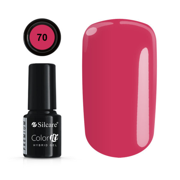 Gellack - Väri IT - Premium - * 70 UV -geeli / LED Pink