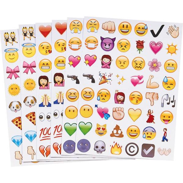 912st Emoji stickers klistermärken