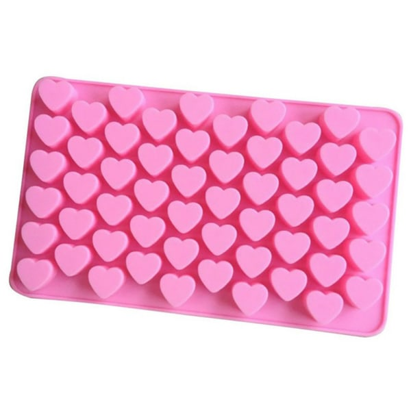 Is/Choklad/Geléform med 55 st hjärtan - Isform
