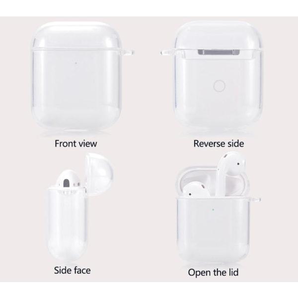 AirPods Silikon skal - Fodral / Skydd -  Transparent