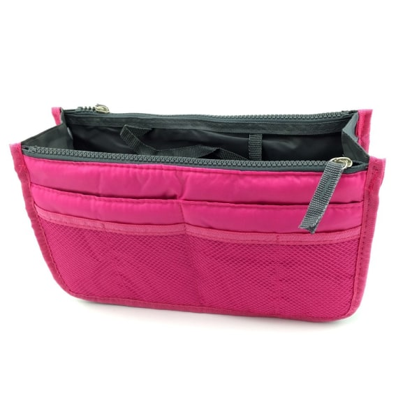 Bag in bag väskinsats necessär Lila