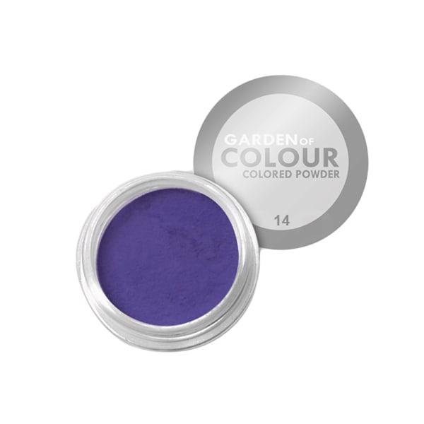 Farvehave - Farvet pulver - NR 14 4g Akrylpulver