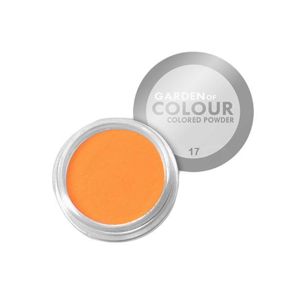 Farvehave - Farvet pulver - NR 17 4g Akrylpulver