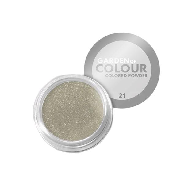 Farvehave - Farvet pulver - NR 21 4g Akrylpulver