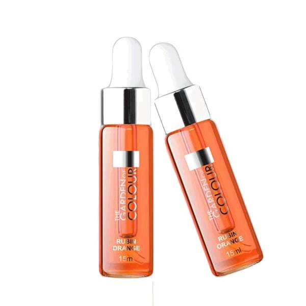 Farvehave - Negleolie - Ruby orange 15 ml
