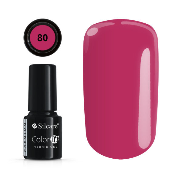 Gellack - Väri IT - Premium - * 80 UV -geeli / LED Cerise