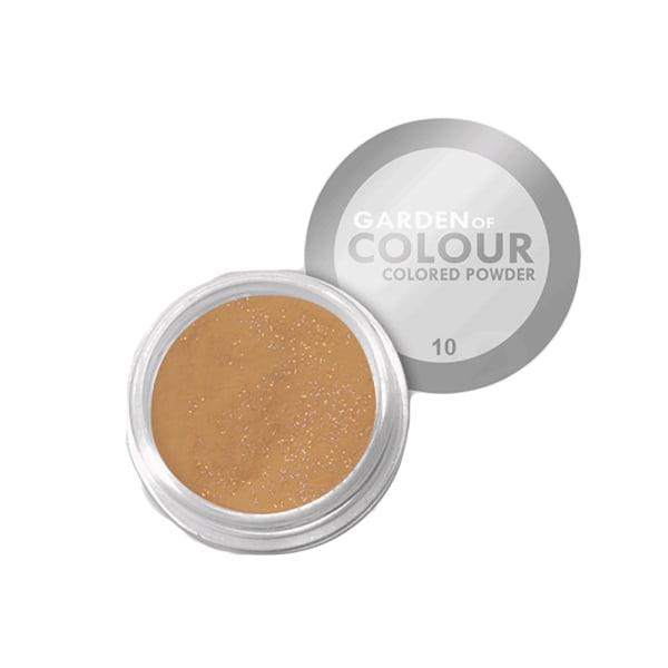 Farvehave - Farvet pulver - NR 10 4g Akrylpulver