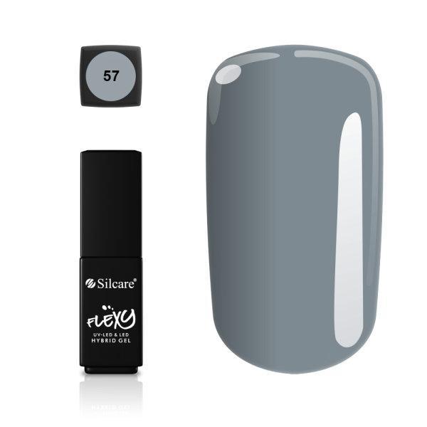 Gellack - Flexy - * 57 4,5 g UV -geeli / LED Grey
