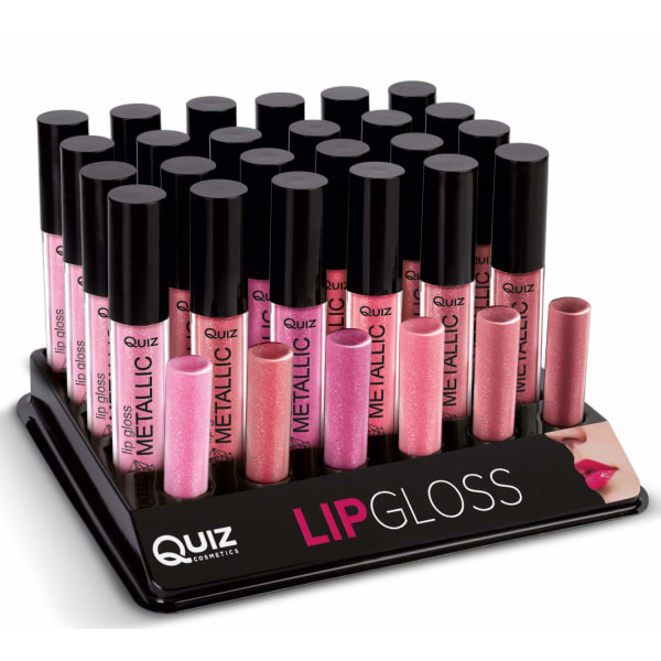 Metallic lipgloss - Läppglans - 6 färger Radiant copper