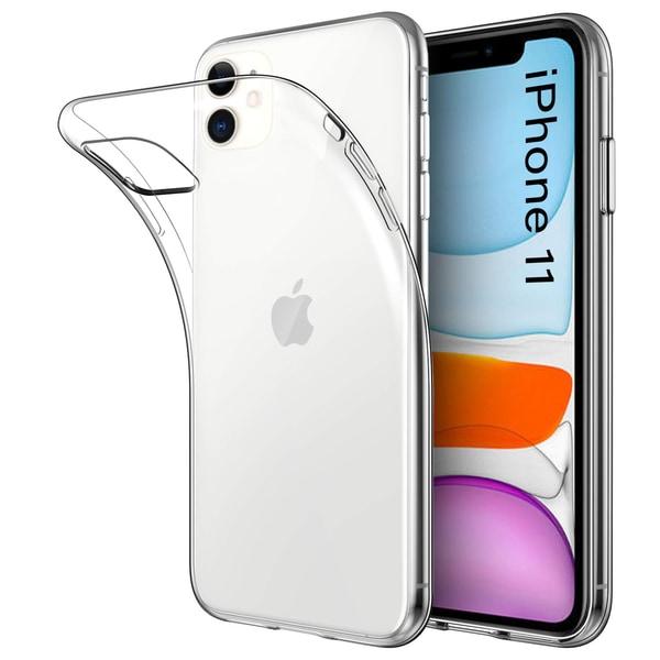 iPhone 11 Skal Genomskinligt TPU 1-Pack