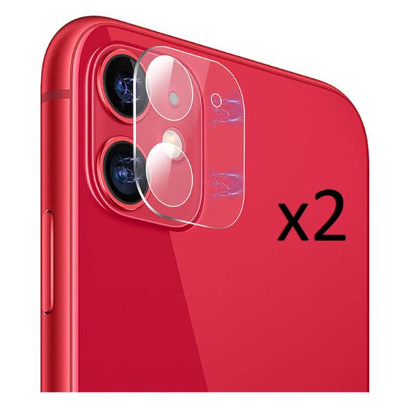 2-pack 3D Iphone 11 Bakkamera skärmskydd.