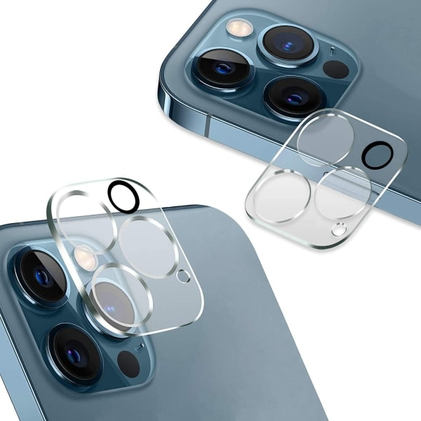 2x Iphone 12 PRO MAX Bakkamera skärmskydd