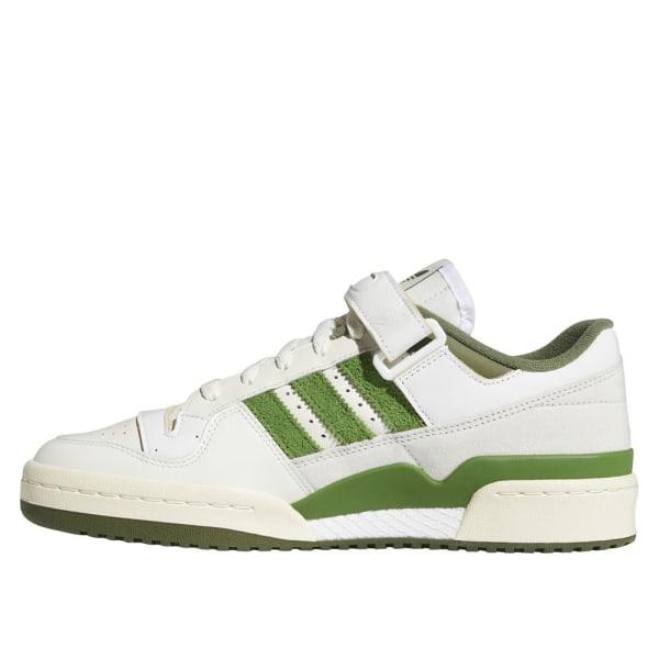 Adidas Forum 84 Low Vit,Gröna 43 1/3