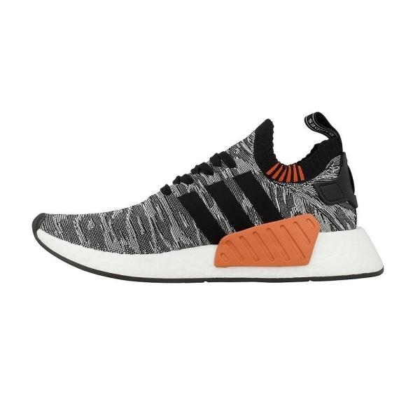 Adidas NMDR2 PK Vit,Svarta,Orange 42 2/3