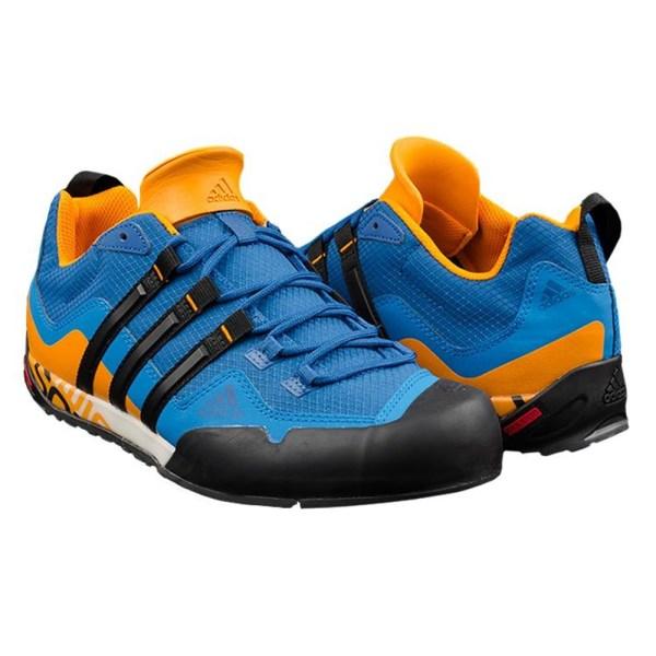 Adidas Terrex Swift Solo Blå,Orange 47 1/3