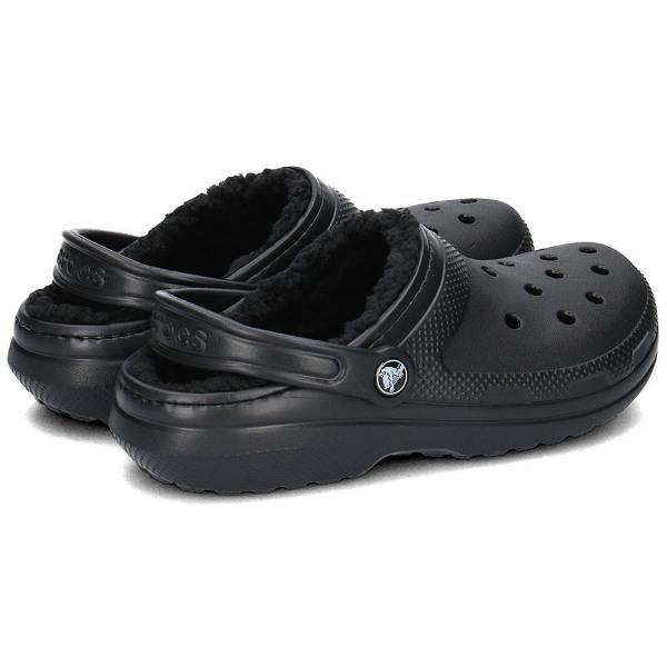 Crocs Classic Lined Clog Unisex Svarta 37