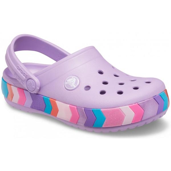 Crocs Crocband Chevron Beaded Clog Kids 29