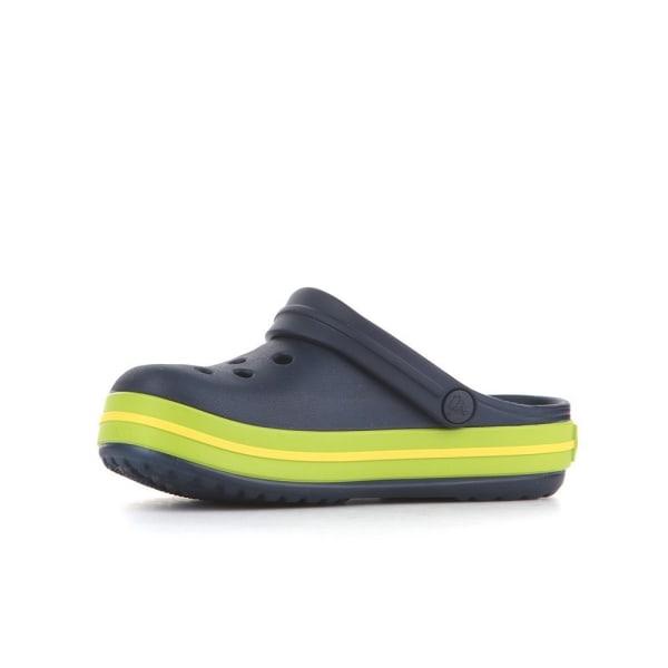 Crocs Crocband Clog K Navyvolt Green Svarta 28