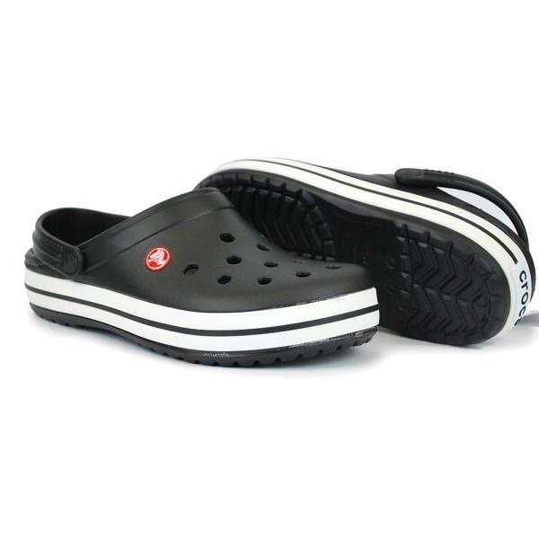 Crocs Crocband Clogs Svarta 43