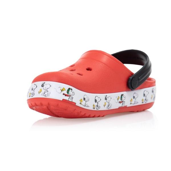 Crocs Fun Lab Vit,Svarta,Röda 27