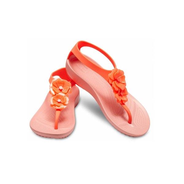 Crocs Serena Orange,Rosa 36