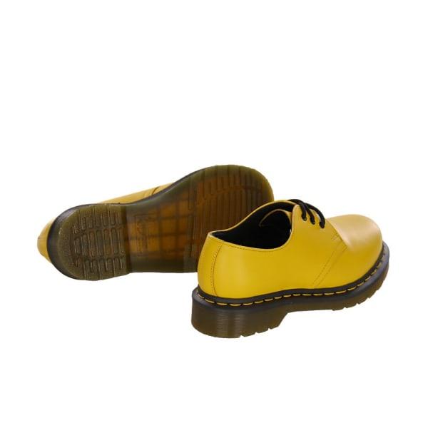 Dr Martens Yellow Smooth Gula,Bruna 38
