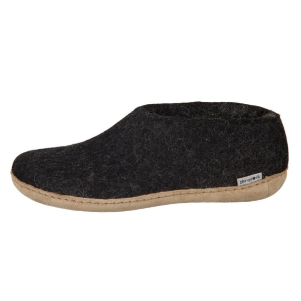 Glerups DK Shoe Charcoal Lammwollfilz Svarta 41
