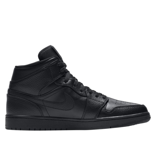 Nike Air Jordan 1 Mid Svarta 42.5