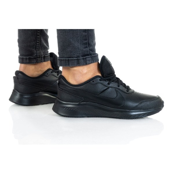 Nike Varsity Leather GS Svarta 40