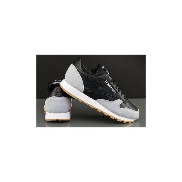 Reebok CL Leather Spp Svarta,Gråa 40.5
