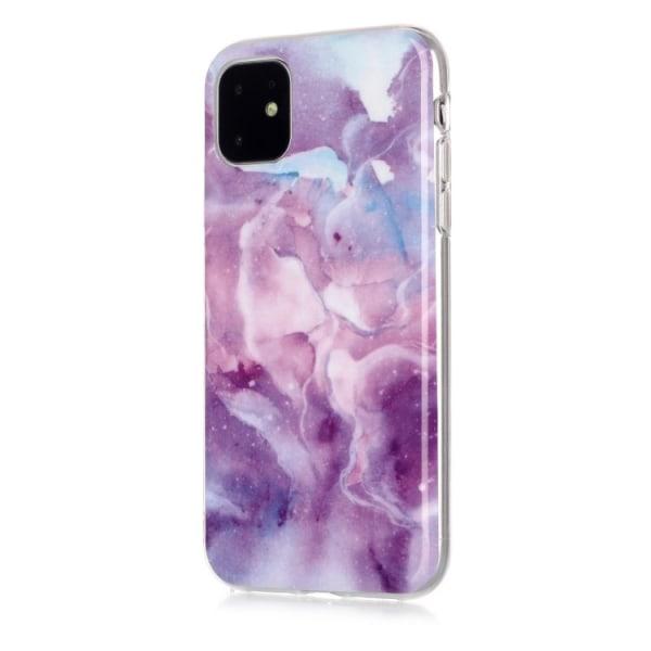 Marmor skal för iPhone 11  Lila
