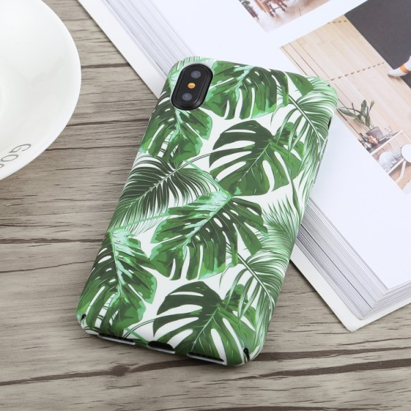 Banana Plant- Cover til iPhone X / Xs Multicolor