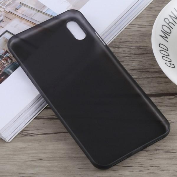 Frostat ultratunt-skal till iPhone Xs MAX Svart