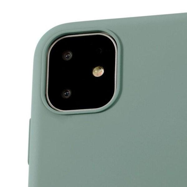 Holdit-  SILIKONSKAL- iPhone 11  Mörkgrön