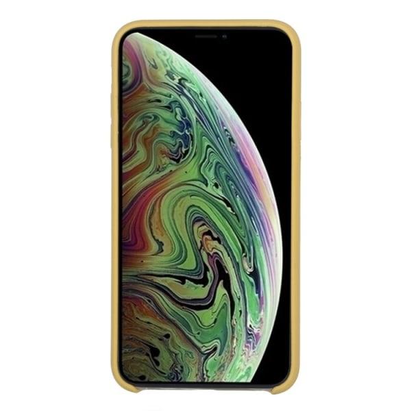iPhone Xs Max - Silicone Case - Mobilskal i silikon Gul